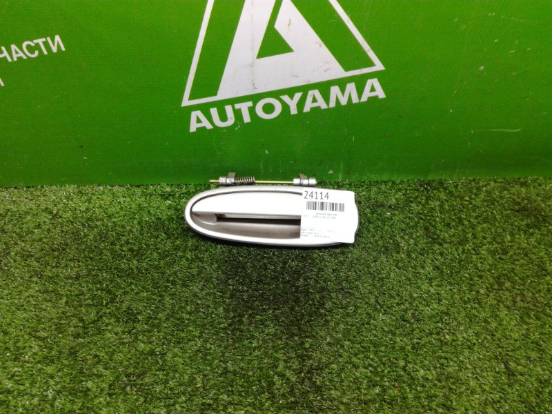 Ручка двери внешняя Toyota Corolla AE100 5AFE задняя левая (б/у)