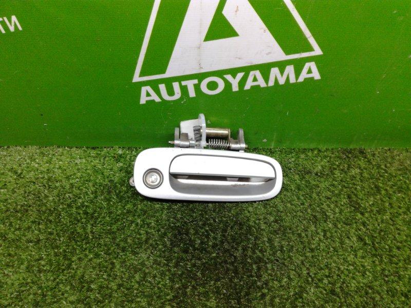 Ручка двери внешняя Toyota Corolla Spacio AE111 4AFE передняя правая (б/у)