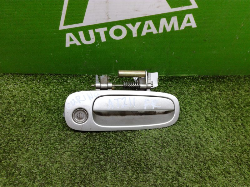 Ручка двери внешняя Toyota Carina AT212 7AFE передняя правая (б/у)
