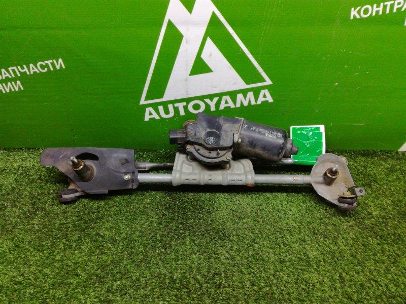Мотор дворников Toyota Platz NCP12 передний (б/у)