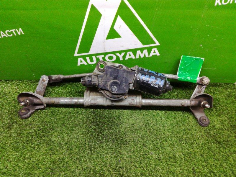 Мотор дворников Toyota Funcargo NCP20 передний (б/у)