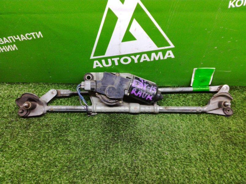 Мотор дворников Toyota Raum EXZ10 передний (б/у)