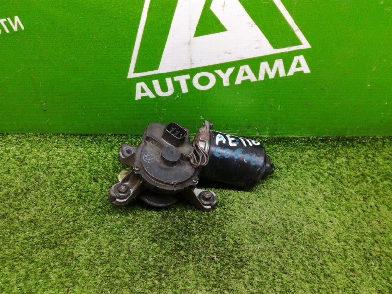Мотор дворников Toyota Corolla AE110 4AFE передний (б/у)