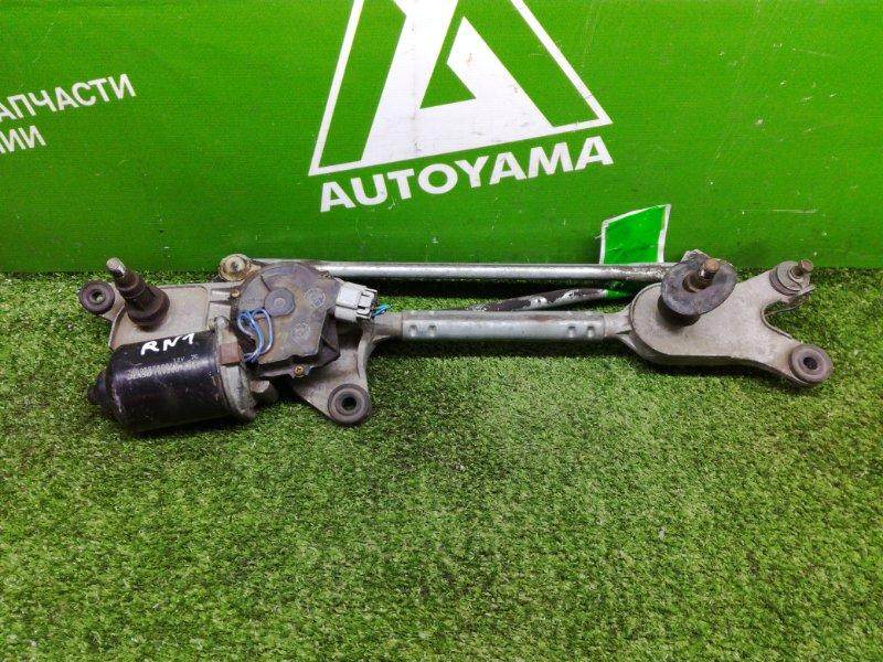 Мотор дворников Honda Stream RN1 K20A передний (б/у)