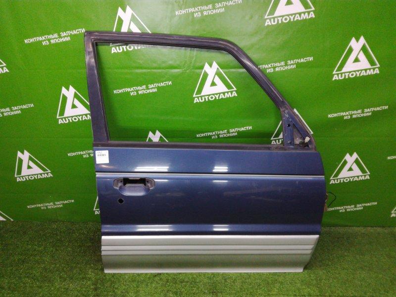 Дверь Mitsubishi Pajero V44 4D56T 1993 передняя правая (б/у)