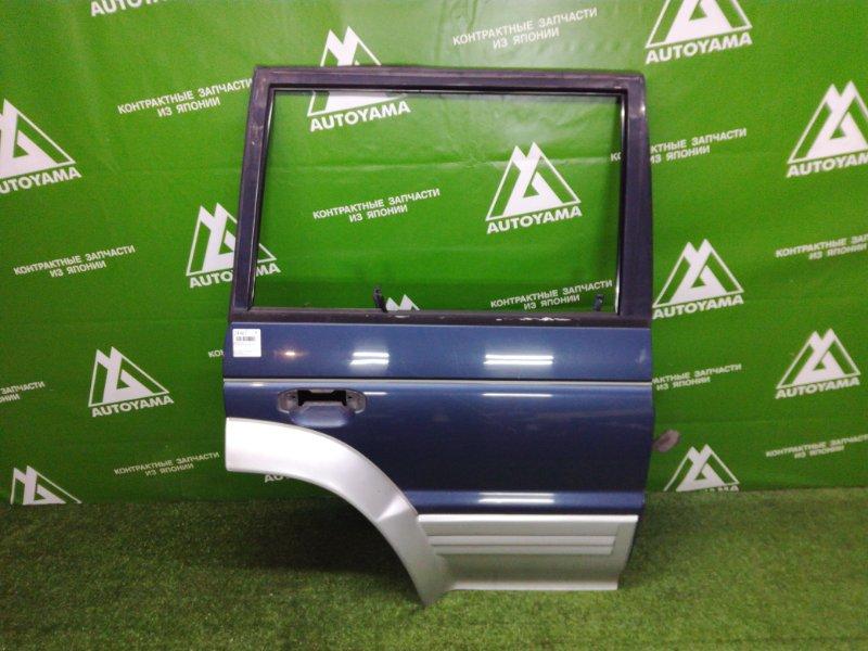 Дверь Mitsubishi Pajero V44 4D56T 1993 задняя правая (б/у)