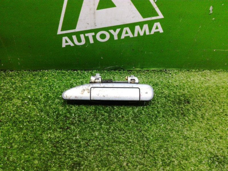 Ручка двери внешняя Nissan Avenir W11 QG18 передняя левая (б/у)