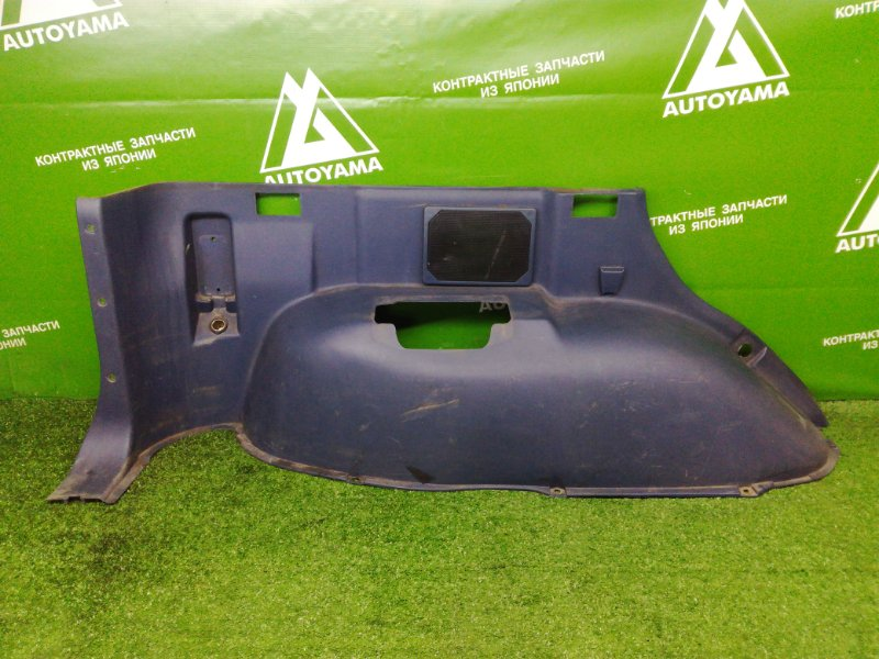 Пластик багажника Mitsubishi Pajero V44 4D56T 1993 задний левый нижний (б/у)