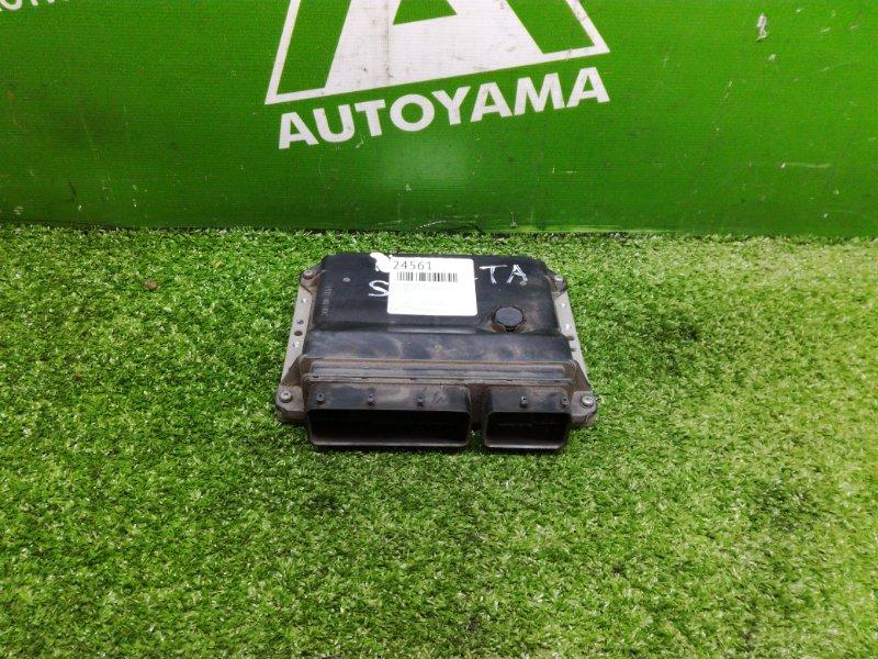 Блок управления двс Toyota Belta SCP92 1SZFE (б/у)