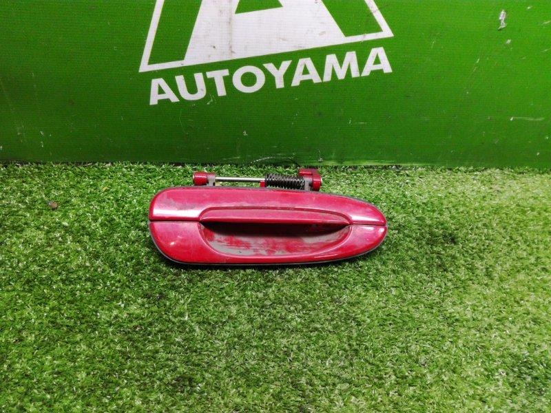 Ручка двери внешняя Mazda Capella Wagon GWEW задняя правая (б/у)