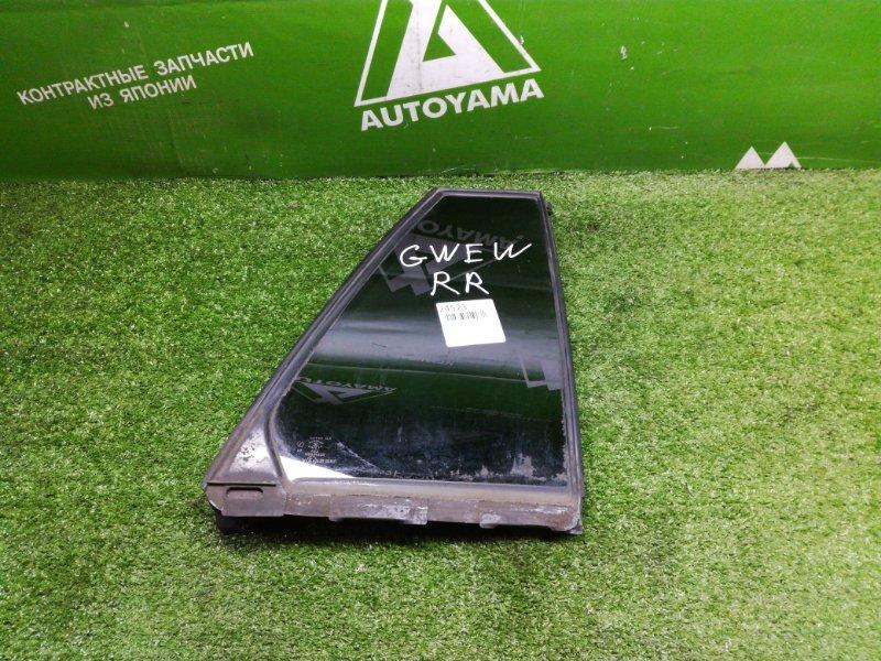 Форточка двери Mazda Capella Wagon GWEW задняя правая (б/у)