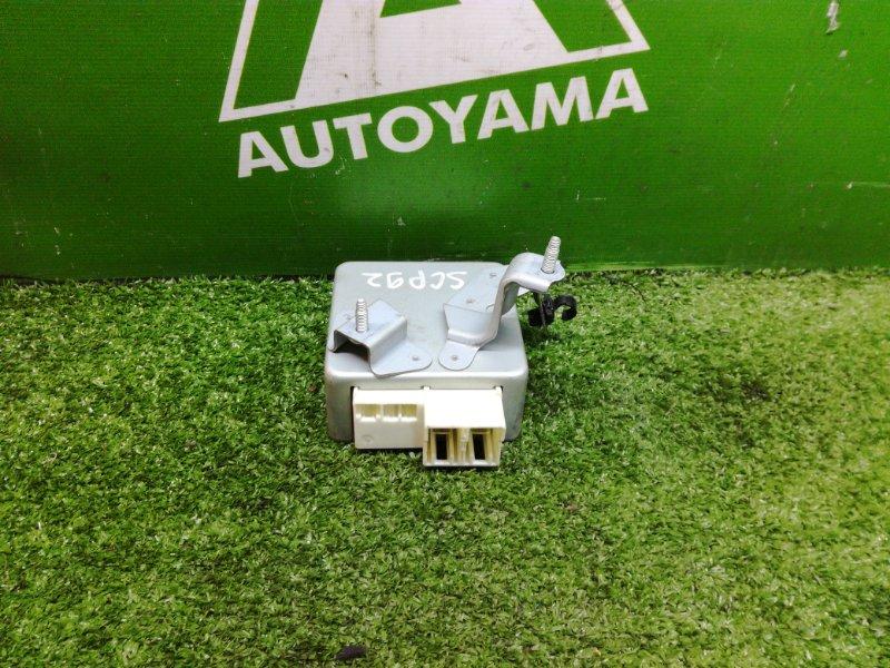 Блок управления рулевой рейкой Toyota Belta SCP92 1SZFE (б/у)