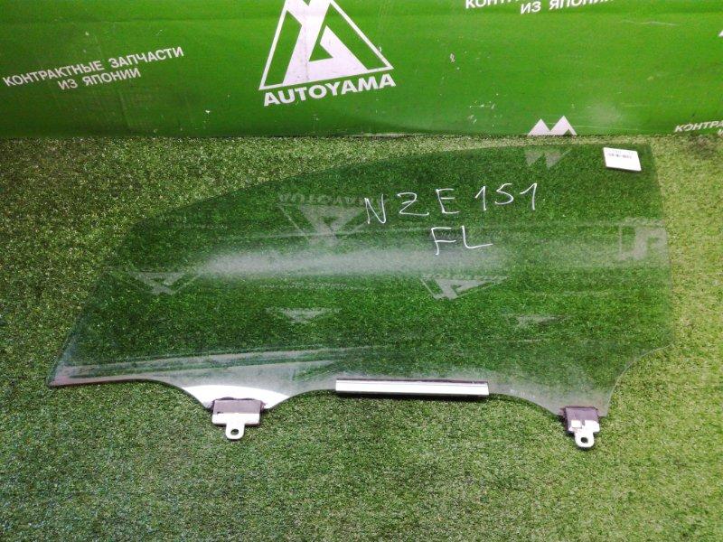 Стекло Toyota Auris NZE151 1NZFE 2011 переднее левое (б/у)