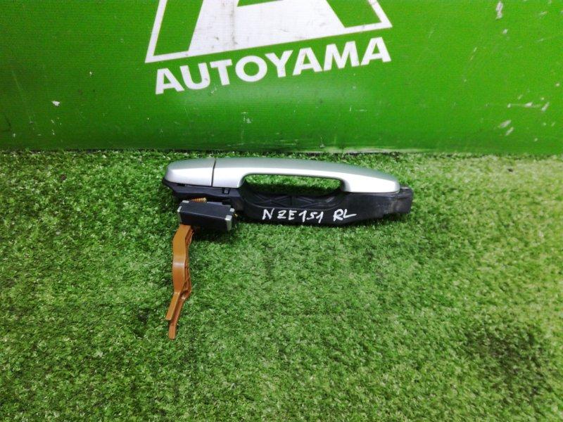 Ручка двери внешняя Toyota Auris NZE151 1NZFE 2011 задняя левая (б/у)