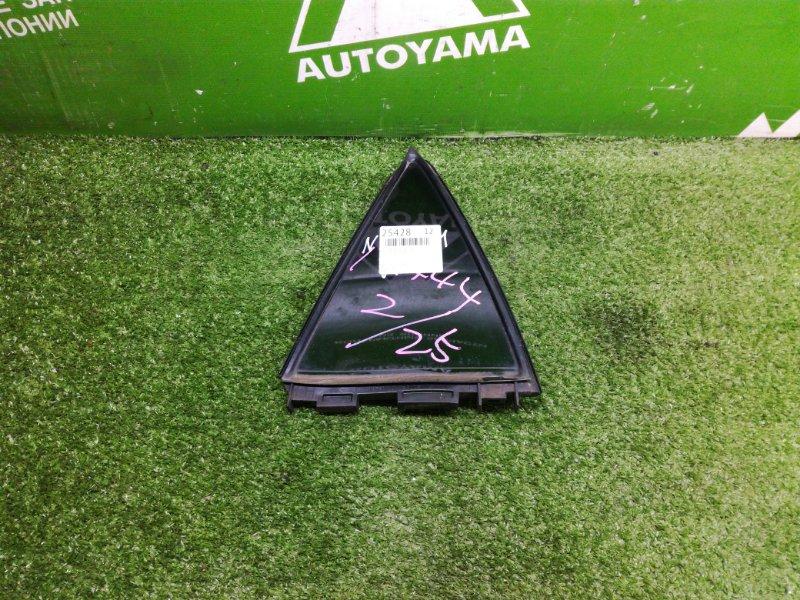 Форточка двери Toyota Auris NZE151 1NZFE 2011 задняя левая (б/у)
