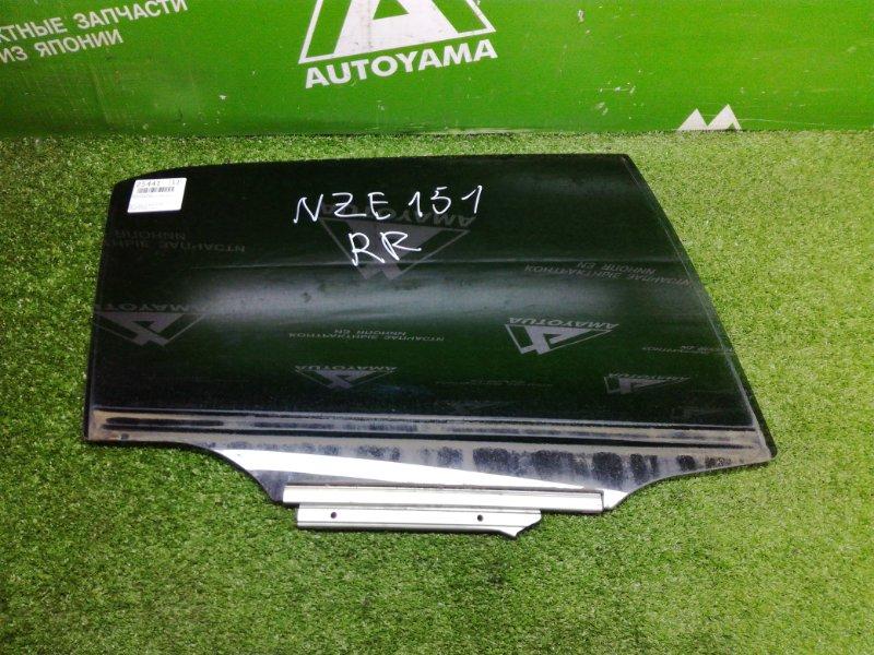 Стекло Toyota Auris NZE151 1NZFE 2011 заднее правое (б/у)