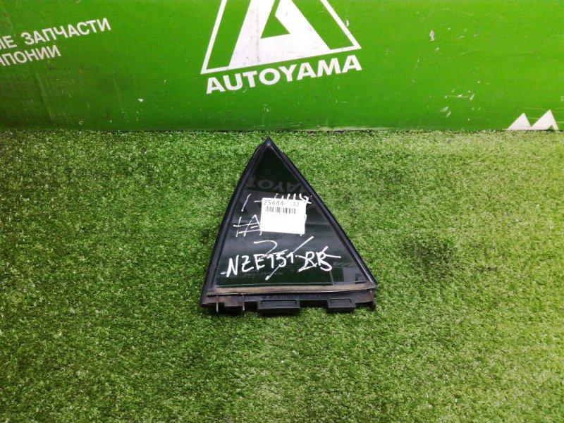 Форточка двери Toyota Auris NZE151 1NZFE 2011 задняя правая (б/у)