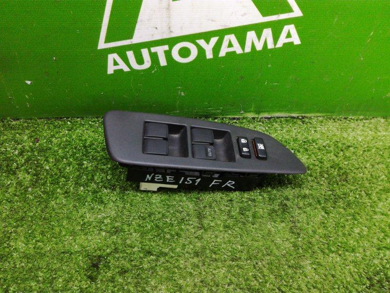 Блок управления стеклами Toyota Auris NZE151 1NZFE 2011 передний правый (б/у)
