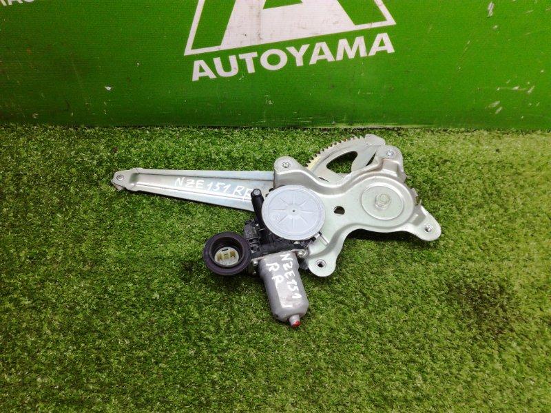 Стеклоподъемник Toyota Auris NZE151 1NZFE 2011 задний правый (б/у)