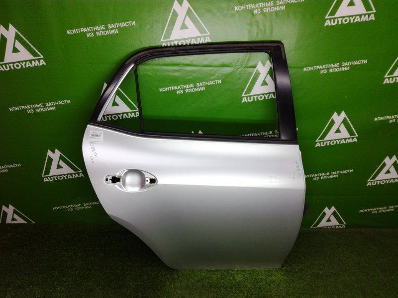 Дверь Toyota Auris NZE151 1NZFE 2011 задняя правая (б/у)