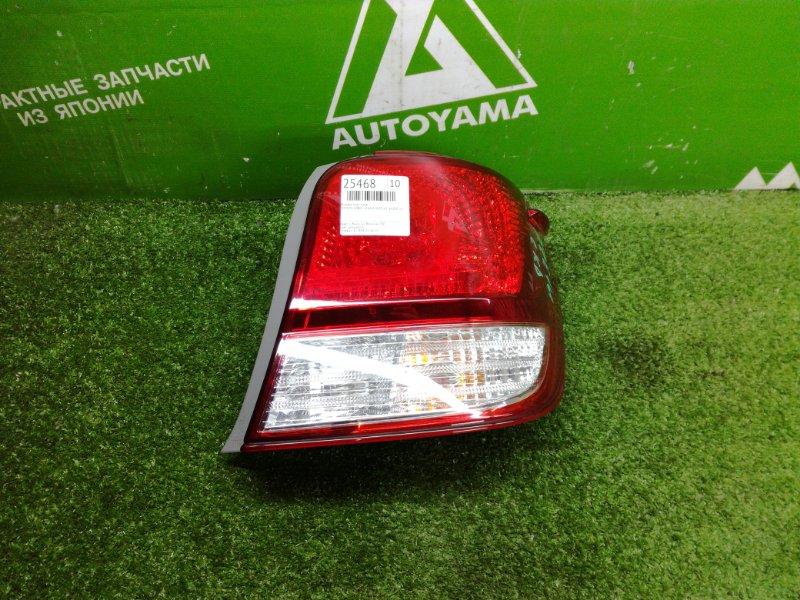 Фонарь Toyota Corolla Axio NZE161 1NZFE 2014 задний правый (б/у)