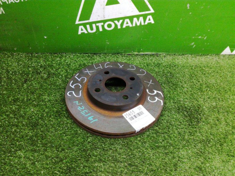 Тормозной диск Toyota Corolla Axio NZE161 1NZFE 2014 передний (б/у)