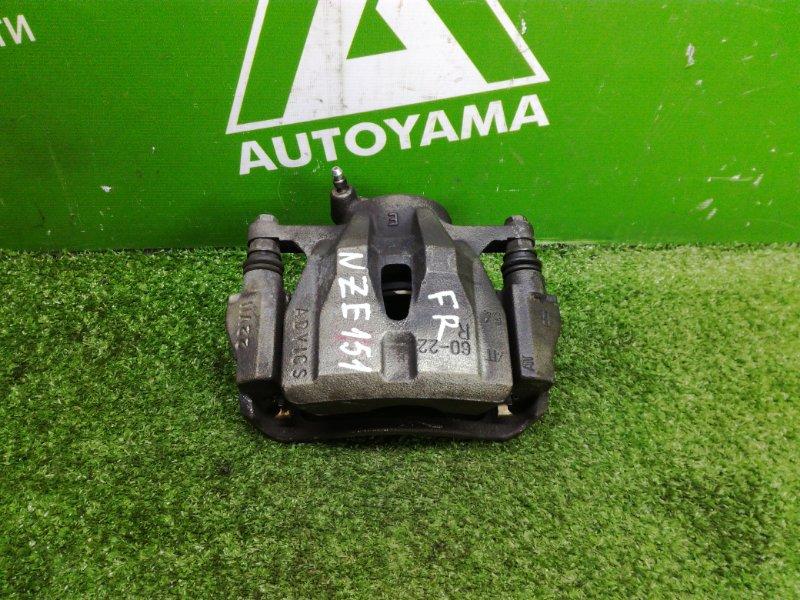 Суппорт Toyota Auris NZE151 1NZFE 2011 передний правый (б/у)