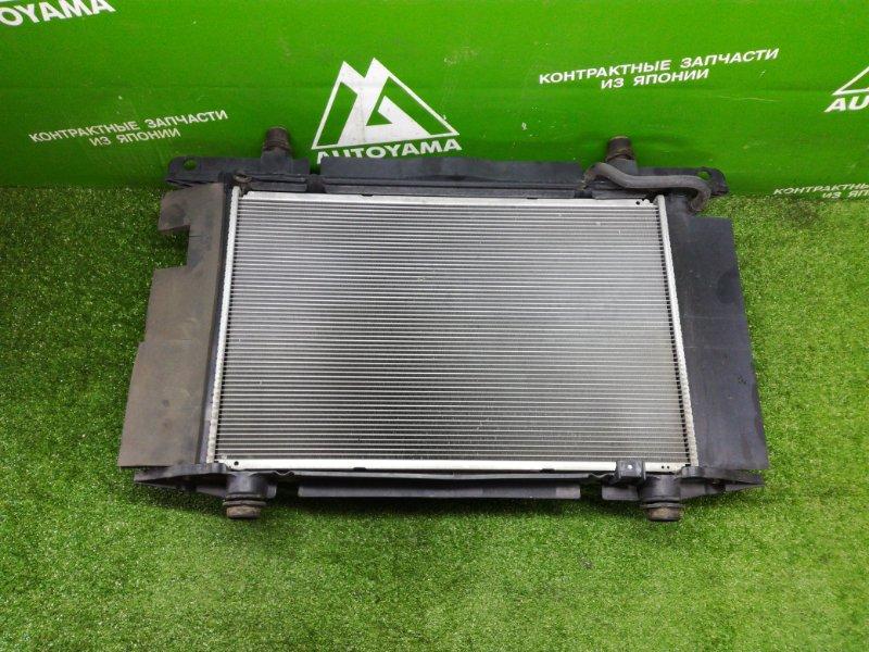 Радиатор двс Toyota Auris NZE151 1NZFE 2011 (б/у)