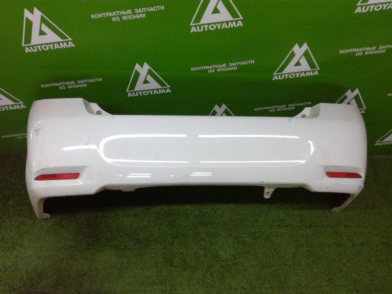 Бампер Toyota Corolla Axio NZE161 1NZFE 2014 задний (б/у)