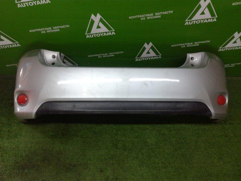 Бампер Toyota Auris NZE151 1NZFE 2011 задний (б/у)