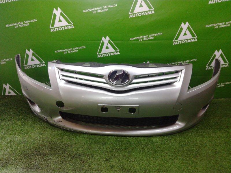 Бампер Toyota Auris NZE151 1NZFE 2011 передний (б/у)