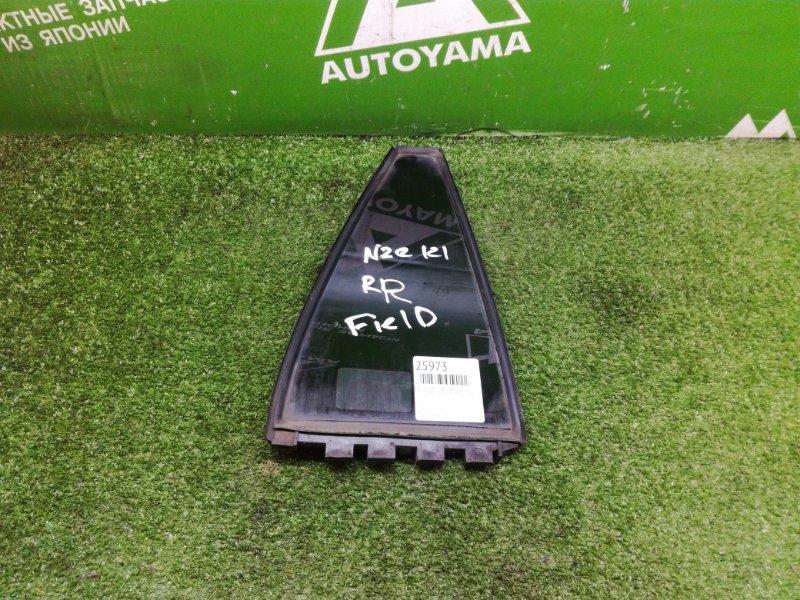 Форточка двери Toyota Corolla Fielder NZE121 1NZFE задняя правая (б/у)