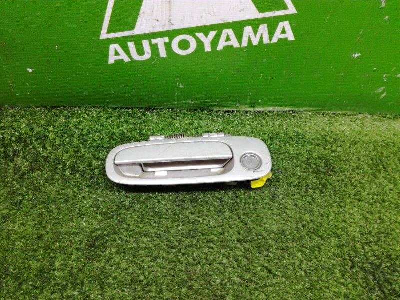 Ручка двери внешняя Toyota Corolla AE110 5AFE 1996 передняя левая (б/у)