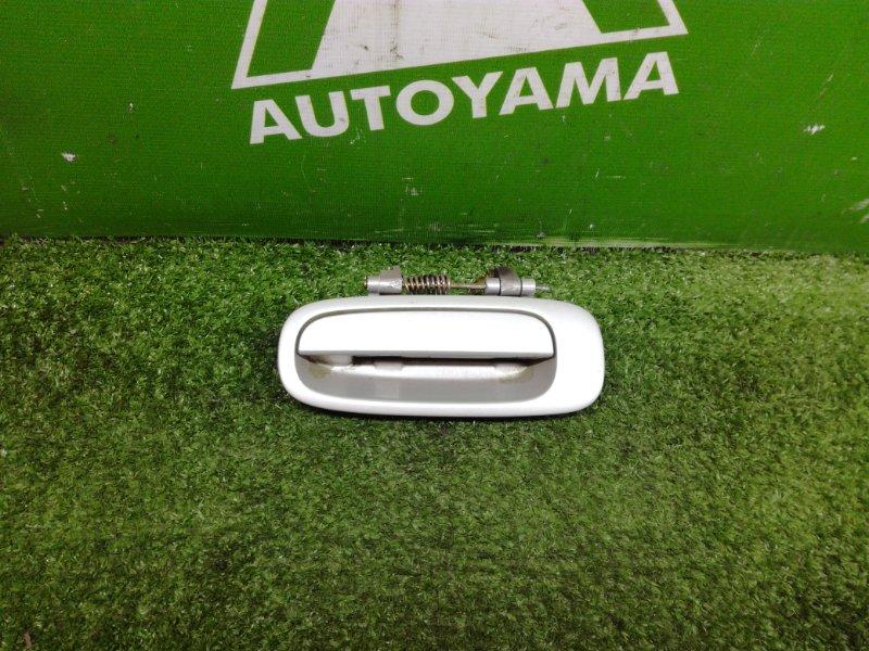 Ручка двери внешняя Toyota Corolla AE110 5AFE 1996 задняя левая (б/у)