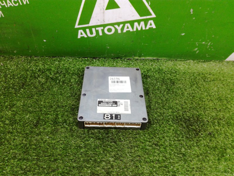 Блок управления двс Toyota Bb NCP31 1NZFE (б/у)