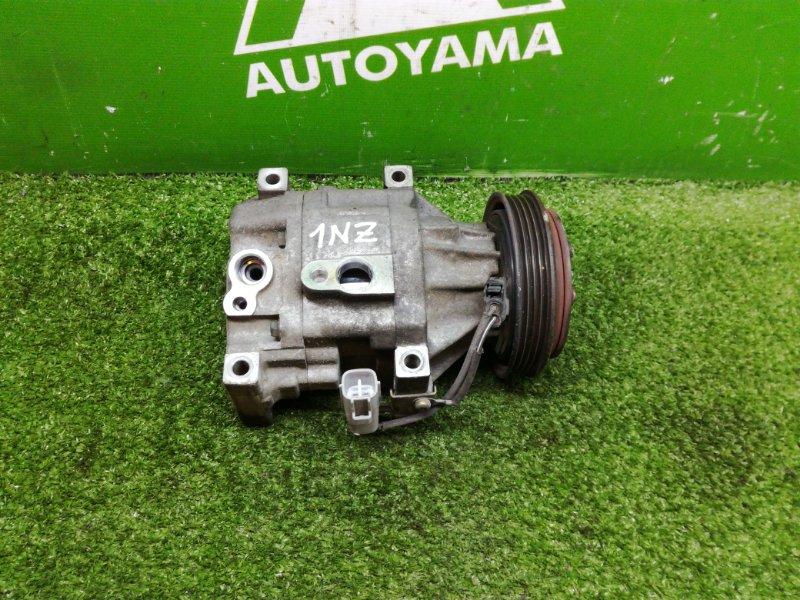 Компрессор кондиционера Toyota Bb NCP31 1NZFE (б/у)