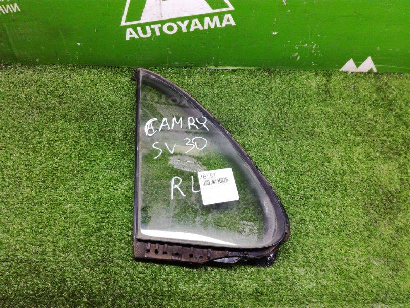 Форточка двери Toyota Camry SV30 3SFE задняя левая (б/у)