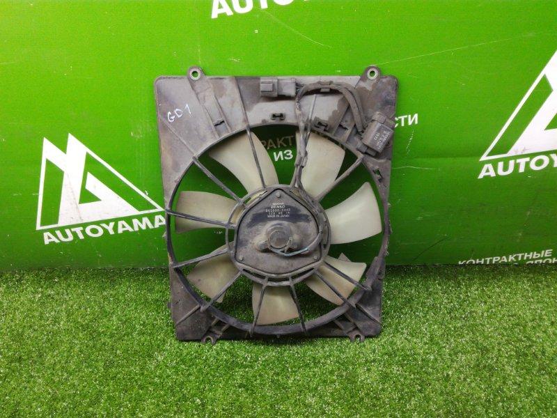 Вентилятор радиатора Honda Fit GD1 L13A (б/у)