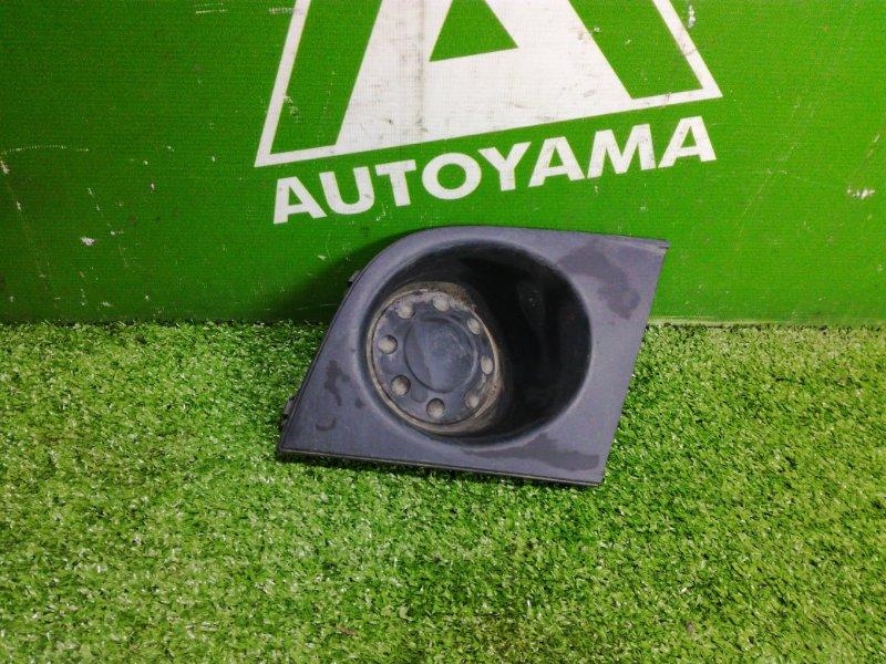 Заглушка бампера Nissan Tiida С11 HR15 (б/у)