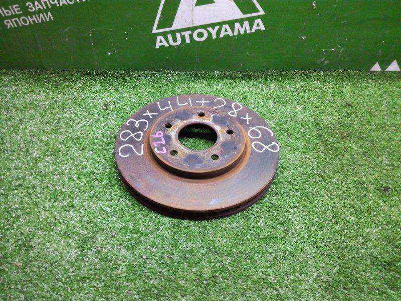Тормозной диск Nissan Serena C26 MR20DD передний (б/у)