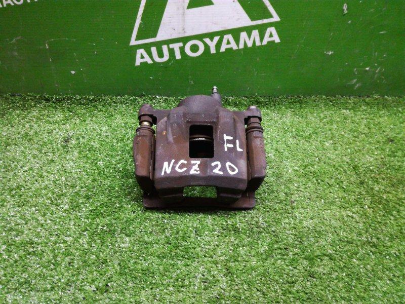 Суппорт Toyota Raum NCZ20 1NZFE 2004 передний левый (б/у)