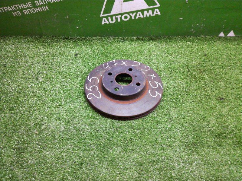 Тормозной диск Toyota Vitz NCP131 1NZFE 2011 передний (б/у)