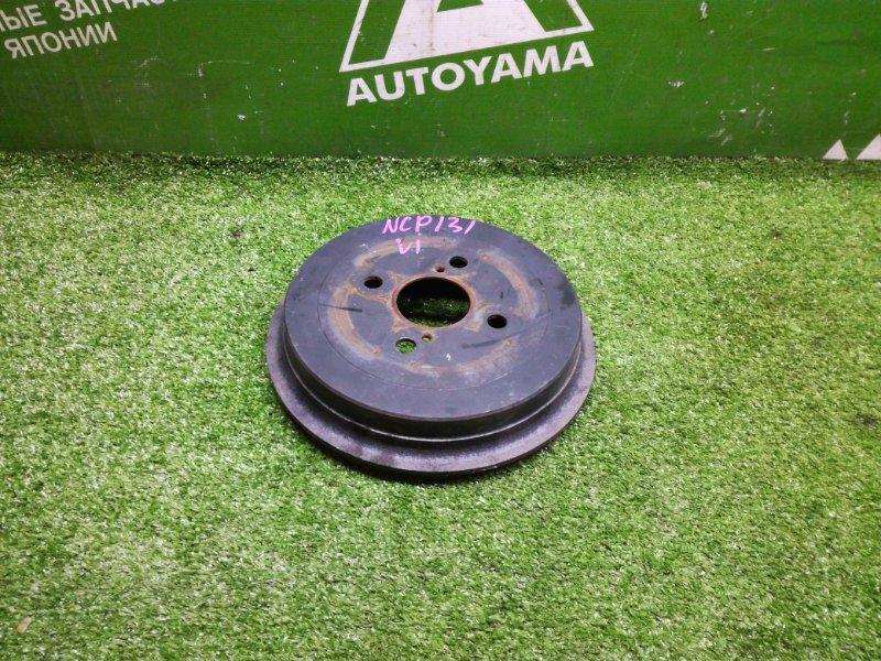 Тормозной барабан Toyota Vitz NCP131 1NZFE 2011 задний (б/у)
