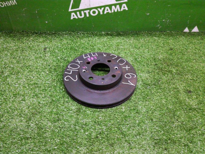 Тормозной диск Honda Civic EK3 D15B передний (б/у)