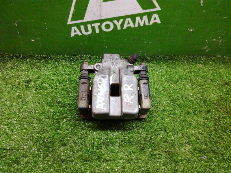 Суппорт Toyota Camry AVV50 2ARFXE 2012 задний правый (б/у)