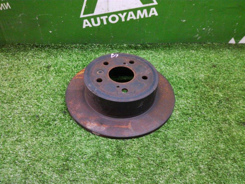 Тормозной диск Toyota Camry AVV50 2ARFXE 2012 задний (б/у)