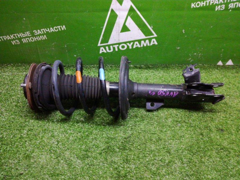 Стойка подвески Toyota Camry AVV50 2ARFXE 2012 передняя правая (б/у)