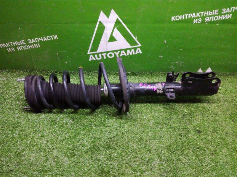 Стойка подвески Toyota Camry AVV50 2ARFXE 2012 задняя правая (б/у)