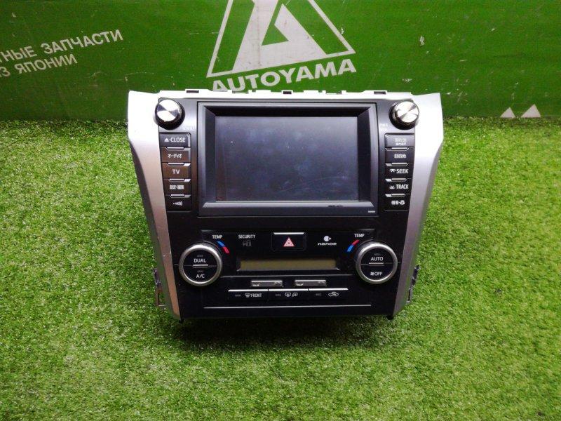 Блок управления климат-контролем Toyota Camry AVV50 2ARFXE 2012 (б/у)