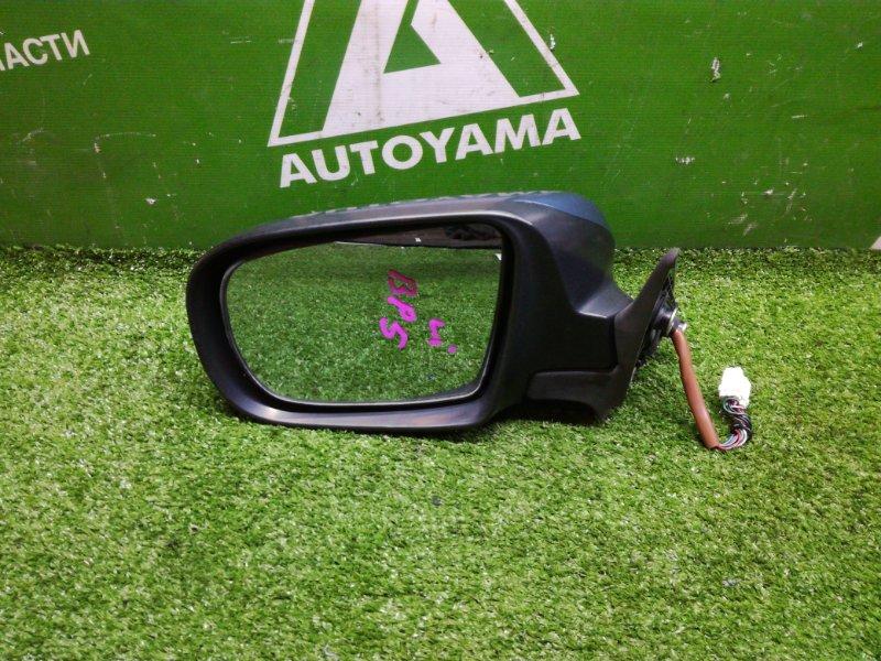 Зеркало Subaru Legacy BP5 EJ204DTAJE левое (б/у)
